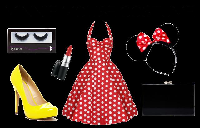 plus-size minnie mouse costume