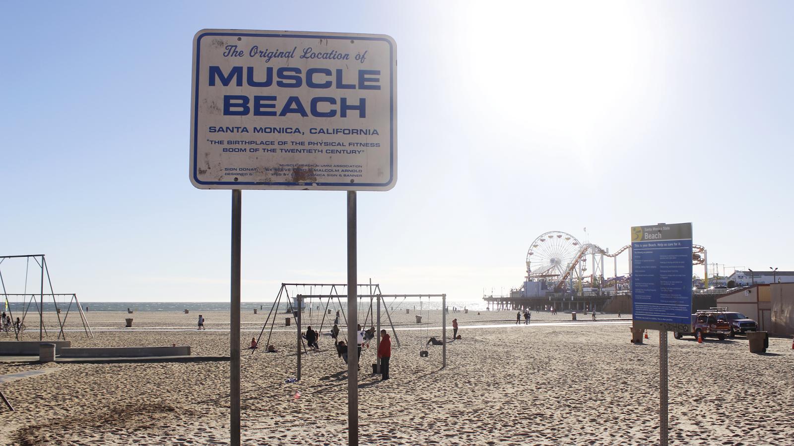 the original muscle beach santa monica california