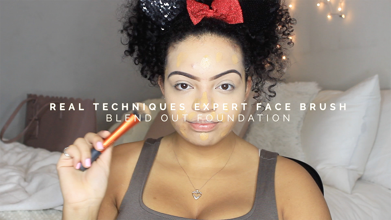 Real Techniques Expect Face Brush | Everyday Makeup Routine | How I Cover My Acne | itsjillaine